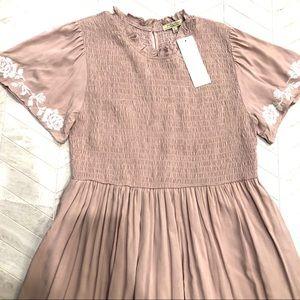 New Polagram Mikarose Mauve Maxi Dress